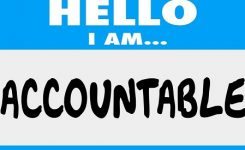 What are you accountable to?